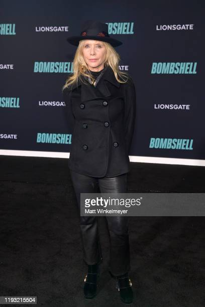"""Rosanna Arquette attends a Special Screening of Liongate's """"Bombshell"""" at Regency Village Theatre on December 10, 2019 in Westwood, California."""