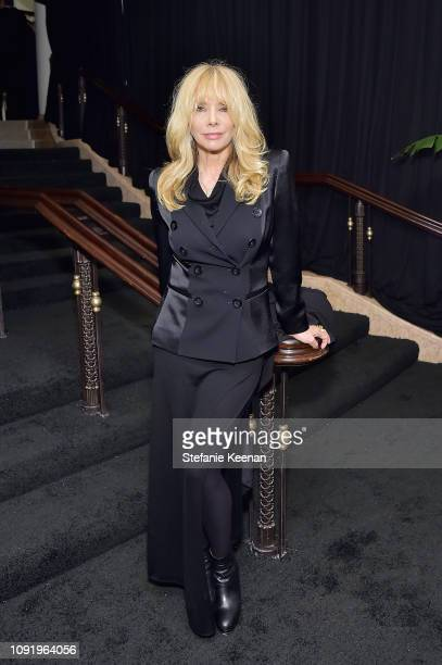 Rosanna Arquette attends Learning Lab Ventures 2019 Gala Presented by Farfetch at Beverly Hills Hotel on January 31, 2019 in Beverly Hills,...