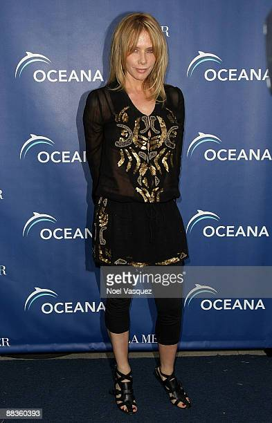 Rosanna Arquette attends Oceana's celebration of World Oceans Day with La Mer at a private residence on June 8 2009 in Los Angeles California