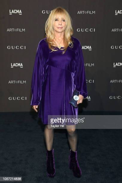 Rosanna Arquette attends the 2018 LACMA ArtFilm Gala at LACMA on November 3 2018 in Los Angeles California