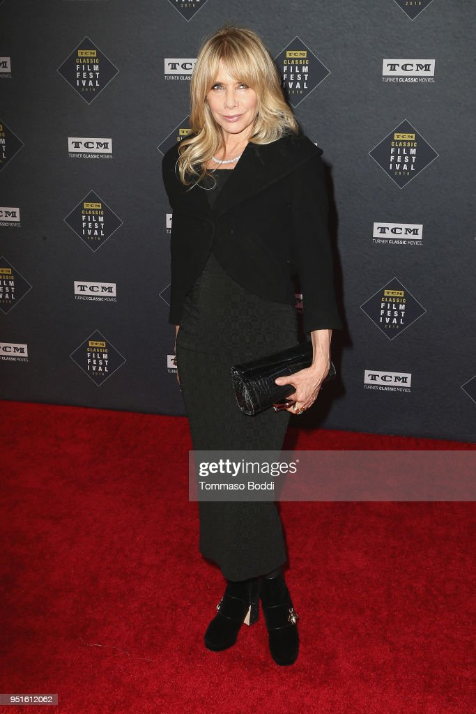 Rosanna Arquette attends the 2018 TCM Classic Film Festival - Opening Night Gala - 50th Anniversary World Premiere Restoration Of 'The Producers' at TCL Chinese Theatre IMAX on April 26, 2018 in Hollywood, California.