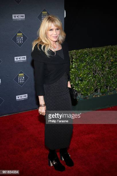 Rosanna Arquette attends the 2018 TCM Classic Film Festival Opening Night Gala 50th Anniversary World Premiere Restoration of The Producers at TCL...