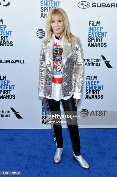 Rosanna Arquette attends the 2019 Film Independent Spirit Awards on February 23 2019 in Santa Monica California