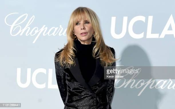 Rosanna Arquette attends the 2019 Hollywood For Science Gala at Private Residence on February 21 2019 in Los Angeles California