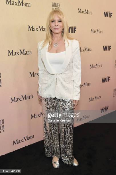Rosanna Arquette attends the 2019 Women In Film Annual Gala Presented by Max Mara with additional support from partners Delta Air Lines and Lexus at...