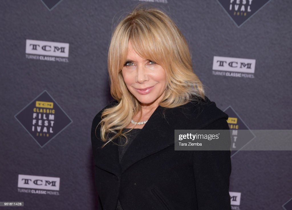 Rosanna Arquette attends the 50th Anniversary World Premiere Restoration of 'The Producers' presented as the Opening Night Gala of the 2018 TCM Classic Film Festival at TCL Chinese Theatre IMAX on April 26, 2018 in Hollywood, California.