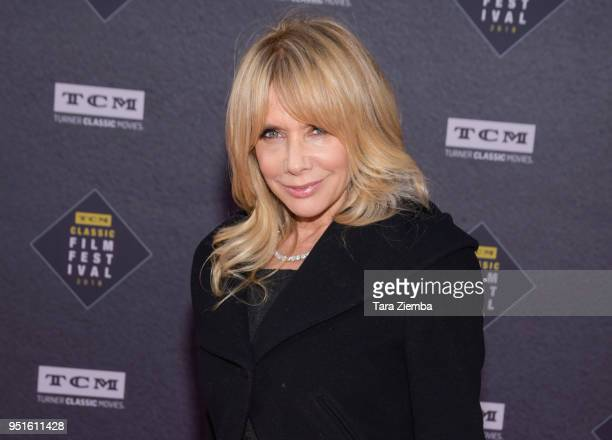 Rosanna Arquette attends the 50th Anniversary World Premiere Restoration of 'The Producers' presented as the Opening Night Gala of the 2018 TCM...