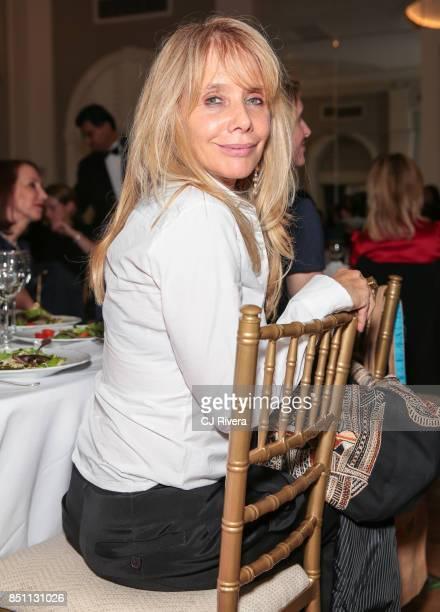 Rosanna Arquette attends the APNE Aap dinner on September 21 2017 in New York City