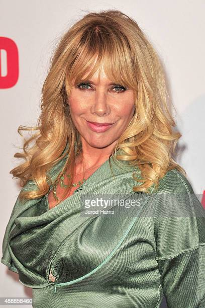 Rosanna Arquette attends The Broad Museum Black Tie Inaugural Dinner at The Broad on September 17 2015 in Los Angeles California