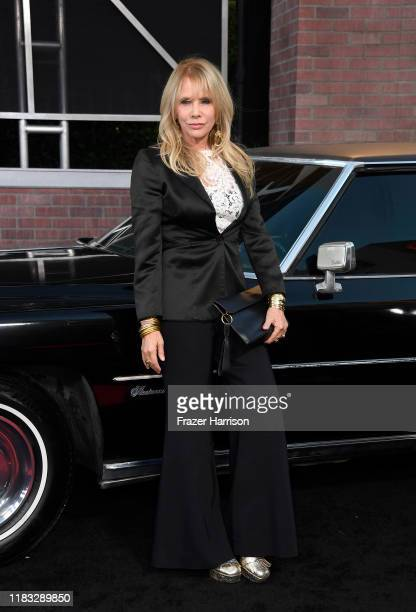 """Rosanna Arquette attends the Premiere Of Netflix's """"The Irishman"""" at TCL Chinese Theatre on October 24, 2019 in Hollywood, California."""