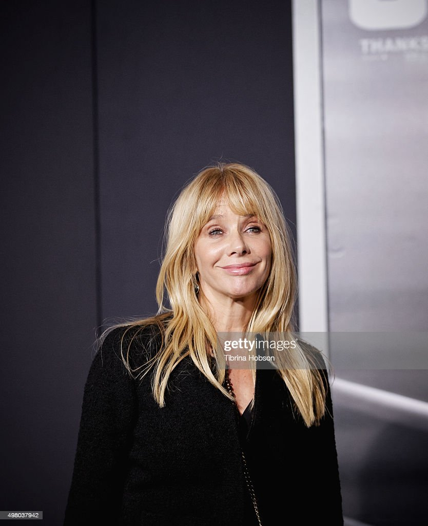 Rosanna Arquette attends the premiere of Warner Bros. Pictures' 'Creed' at Regency Village Theatre on November 19, 2015 in Westwood, California.