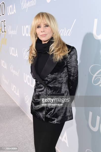 Rosanna Arquette attends the UCLA IoES honors Barbra Streisand and Gisele Bundchen at the 2019 Hollywood for Science Gala on February 21, 2019 in...
