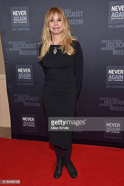 Rosanna Arquette attends the United States Holocaust Memorial Museum presents 2016 Los Angeles Dinner What You Do Matters at The Beverly Hilton Hotel...