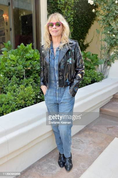 Rosanna Arquette attends Valentino Sponsors H.E.A.R.T. Annual Brunch on April 24, 2019 in Los Angeles, California.