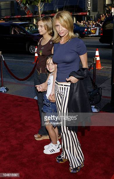 Rosanna Arquette daughter Zoe during 'Eight Legged Freaks' World Premiere at Mann's Chinese Theater in Hollywood California United States