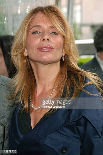 Rosanna Arquette during ABC Upfront 2006/2007 - Arrivals at Lincoln Center in New York City, New York, United States.