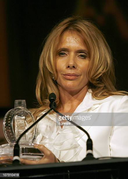 Rosanna Arquette during AFI Honors Hollywood's Arquette Family With The Sixth Annual 'Platinum Circle Awards' Green Room and Show in Los Angeles...