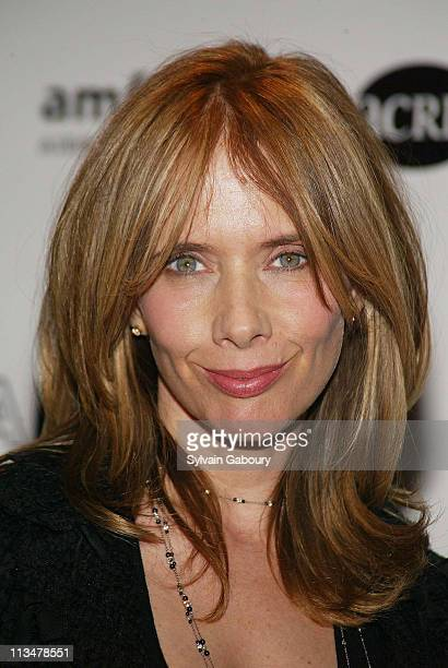 Rosanna Arquette during amfAR and ACRIA Honor Herb Ritts for His Work and Activism at Sotheby's in New York New York United States