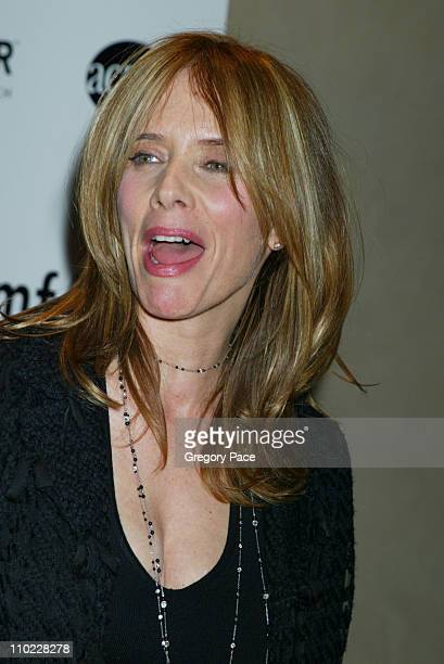 Rosanna Arquette during amfAR and ACRIA Honor Herb Ritts with a Sale of Contemporary Artwork Inside Arrivals at Sothebys in New York City New York...