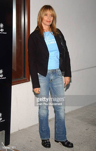 Rosanna Arquette during A/X Armani Exchange Marie Claire Magazine and Kodak Supporting The Step Up Women's Network Arrivals at A/X Armani Exchange...