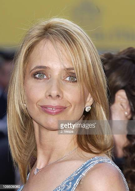 Rosanna Arquette during Cannes 2002 Opening Night 'Hollywood Ending' Premiere at Palais des Festivals in Cannes France