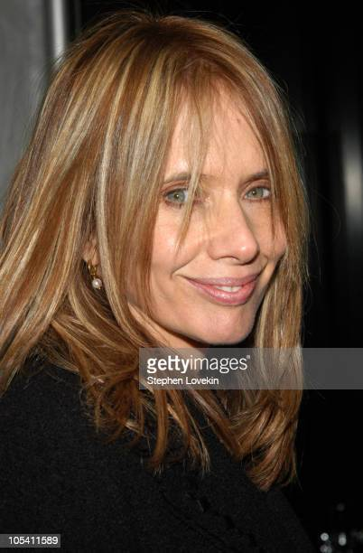 """Rosanna Arquette during """"Raging Bull"""" 25th Anniversary and Collector's Edition DVD Release Celebration at Ziegfeld Theatre in New York City, New..."""