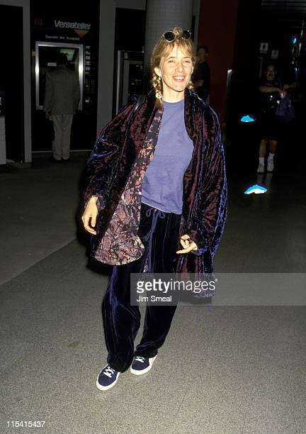 Rosanna Arquette during Rosanna Arquette at Los Angeles International Airport May 25 1995 at Los Angeles International Airport in Los Angeles...