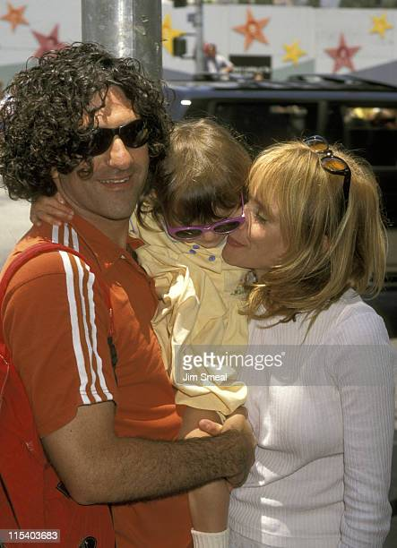Rosanna Arquette Husband John Sidel and Daughter Zoe Sidel