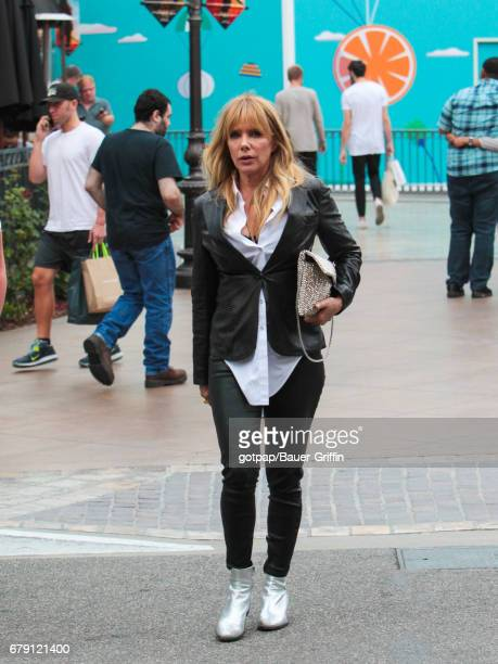 Rosanna Arquette is seen on May 04 2017 in Los Angeles California