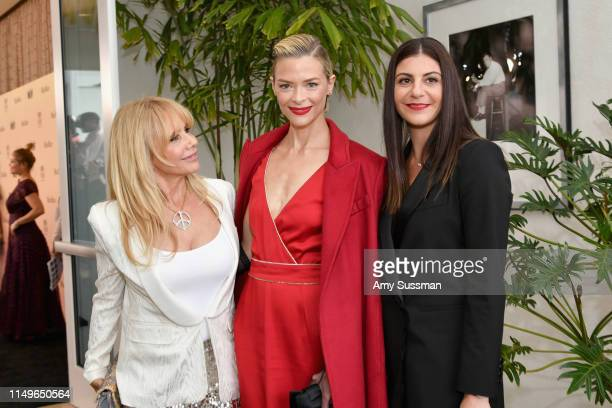 Rosanna Arquette, Jaime King, wearing Max Mara, and Max Mara VP US Retail and Global Brand Ambassador Maria Giulia Maramotti, wearing Max Mara,...