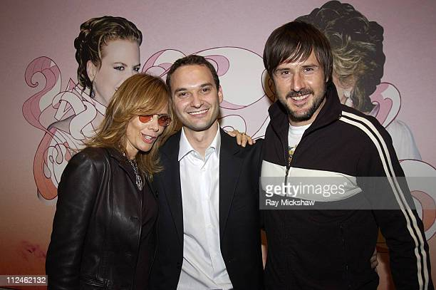 Rosanna Arquette Jeff Vespa and David Arquette during Motorola Hosts Opening of Hollywood Graffiti First Exhibition from Artist Jeff Vespa to Benefit...