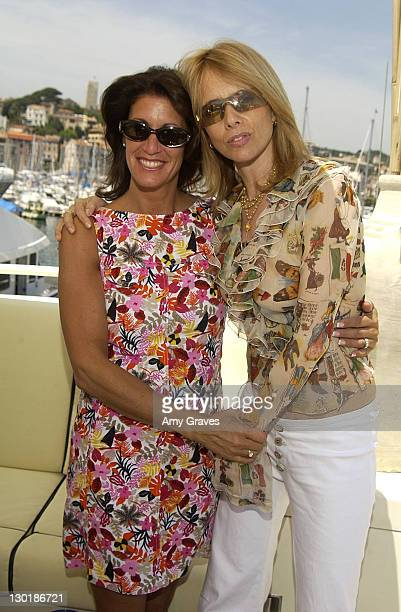 Rosanna Arquette Kathy Winterstern on The Hollywood Yacht in Cannes