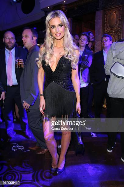 Rosanna Davison daughter of Chris de Burg during the 20th Lambertz Monday Night 2018 at Alter Wartesaal on January 29 2018 in Cologne Germany