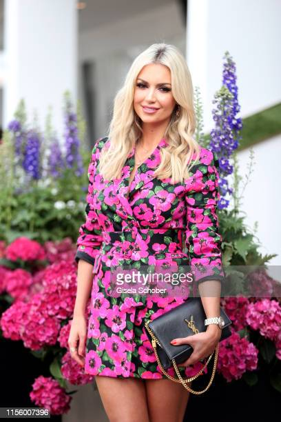 Rosanna Davison, daughter of Chris de Burgh during the CHIO 2019 Media Night on July 16, 2019 in Aachen, Germany.