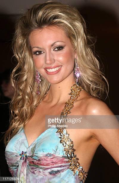 Rosanna Davison former Miss World 2003 during VIP Style Awards Gala Dinner 2006 at The Four Seasons Hotel in Dublin Ireland
