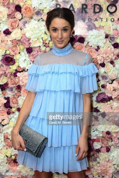 Rosanna Falconer attends The BARDOU Foundation's International Women's Day IWD private dinner at The Hospital Club on March 8 2018 in London England