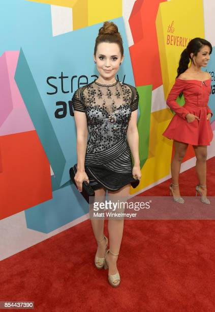 Rosanna Pansino at the 2017 Streamy Awards at The Beverly Hilton Hotel on September 26 2017 in Beverly Hills California