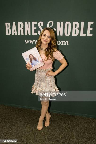 Rosanna Pansino attends a book signing of her new book Baking All Year Round at Barnes Noble at The Grove on October 29 2018 in Los Angeles California