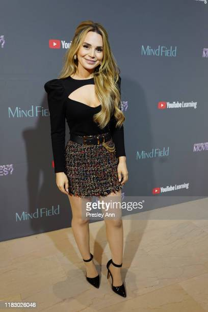 """Rosanna Pansino attends an exclusive screening event for YouTube Originals newest learning shows Could You Survive The Movies and """"Mind Field"""" on..."""