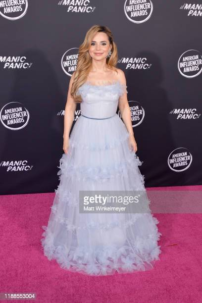 Rosanna Pansino attends the 2nd Annual American Influencer Awards at Dolby Theatre on November 18 2019 in Hollywood California