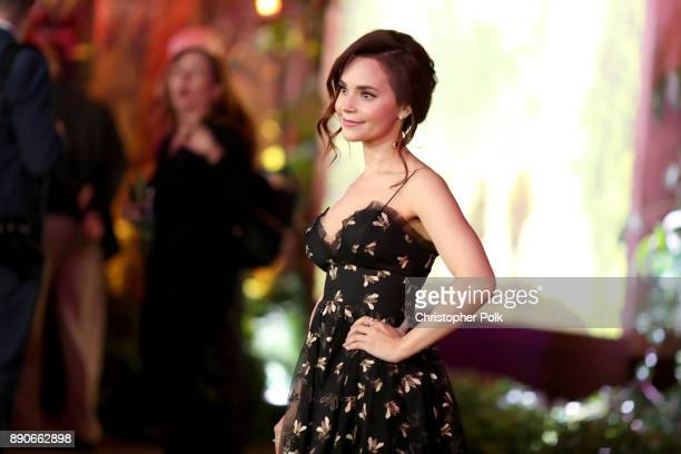 Rosanna Pansino attends the premiere of Columbia Pictures' 'Jumanji Welcome To The Jungle' on December 11 2017 in Hollywood California