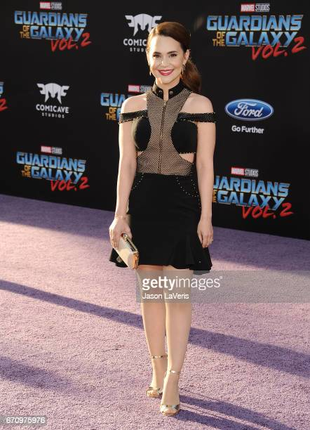 Rosanna Pansino attends the premiere of 'Guardians of the Galaxy Vol 2' at Dolby Theatre on April 19 2017 in Hollywood California