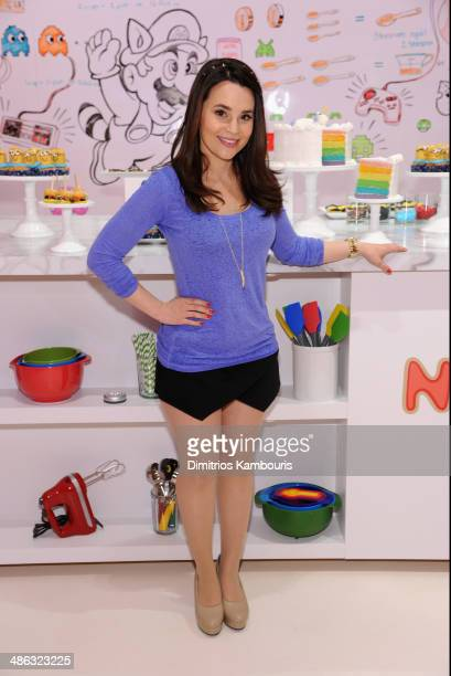 Rosanna Pansino attends Unleash YouTube Event with stars Michelle Phan Rosanna Pansino And Bethany Mota on April 23 2014 in New York City