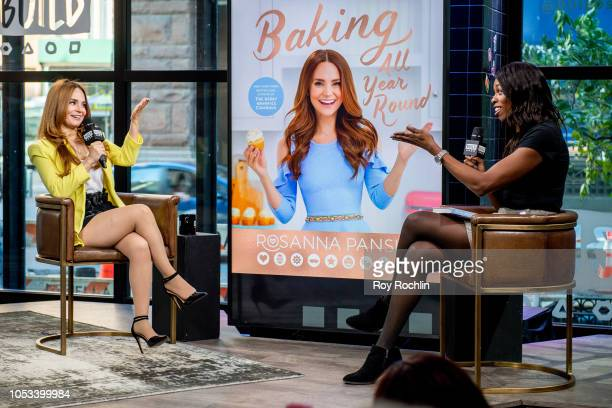 Rosanna Pansino discusses Baking All Year Round with the Build Series at Build Studio on October 25 2018 in New York City
