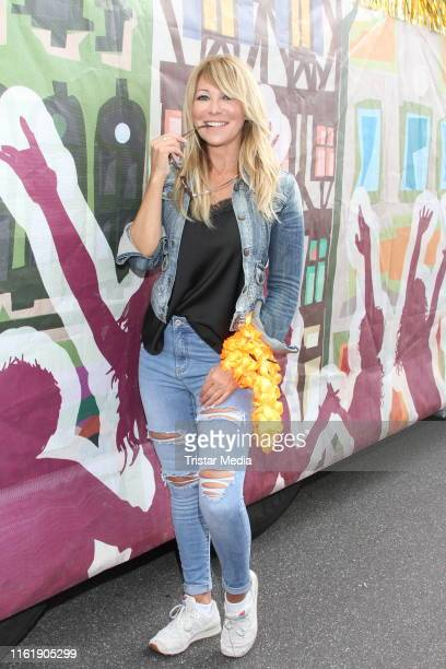 Rosanna Rocci during the Schlagermove in HamburgHeiligengeistfeld on July 13 2019 in Hamburg Germany