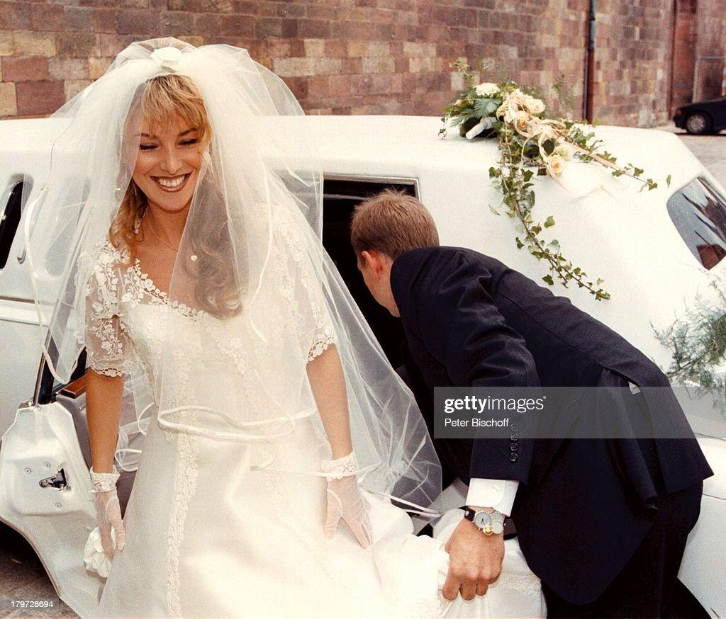 Rosanna Rocci, Hochzeit mit Sänger Michael;Morgan, am Dom zu Spe ...