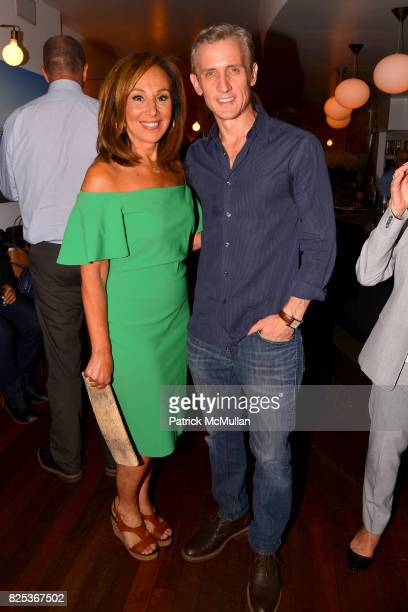 Rosanna Scotto and Dan Abrams attend Michael Gelman Celebrates The Launch Of CLASS MOM A Novel By Laurie Gelman at Loi Estiatorio on July 26 2017 in...