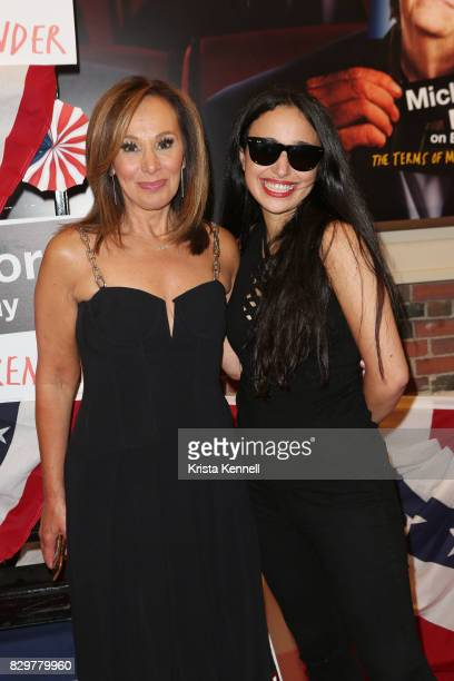 Rosanna Scotto and Jenna Ruggiero attend 'The Terms Of My Surrender' Broadway Opening Night Arrivals Curtain Callat Belasco Theatre on August 10 2017...