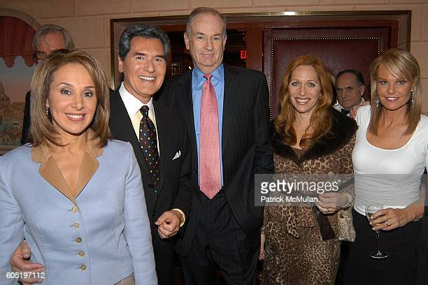Rosanna Scotto Ernie Anastos Bill O'Reilly Jill Brooke and Lauren Thierry Watkins attend NYCLI WB11 Honor Jim Watkins at Doubles on January 25 2006...