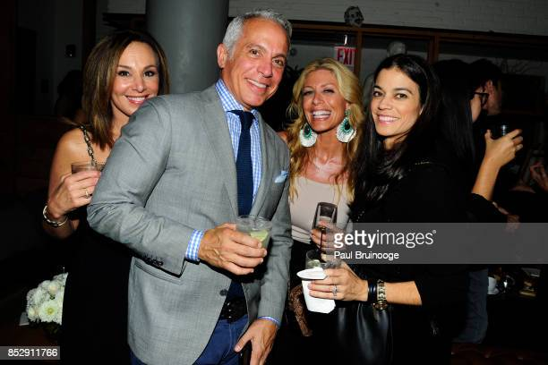 Rosanna Scotto Geoffrey Zakarian Jill Martin and Margaret Anne Williams attend NBC Vanity Fair host a party for Will Grace at Mr Purple at the Hotel...